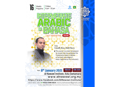 Intermediate Arabic in Bahasa January 2021