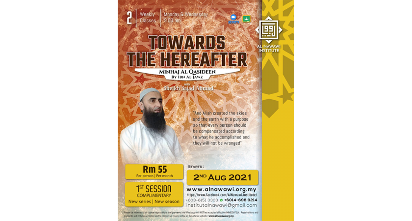 Towards The Hereafter